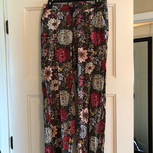 Flower loft pants
